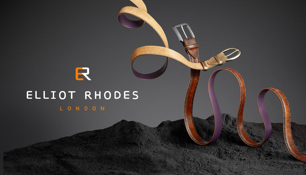 Elliot Rhodes Intertwined Pony & Cordovan Belts