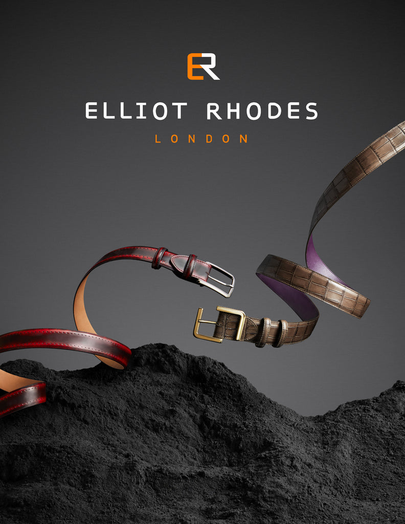 Elliot Rhodes Burgundy and Camouflage Fighting Belts