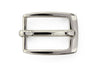Shiny silver classic prong buckle 20mm