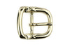 Pale gold centre prong kink buckle 20mm