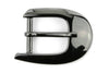 Gunmetal Offset Prong Buckle 20mm