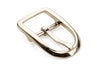 Rounded Pale Gold Centre Prong Buckle 25mm