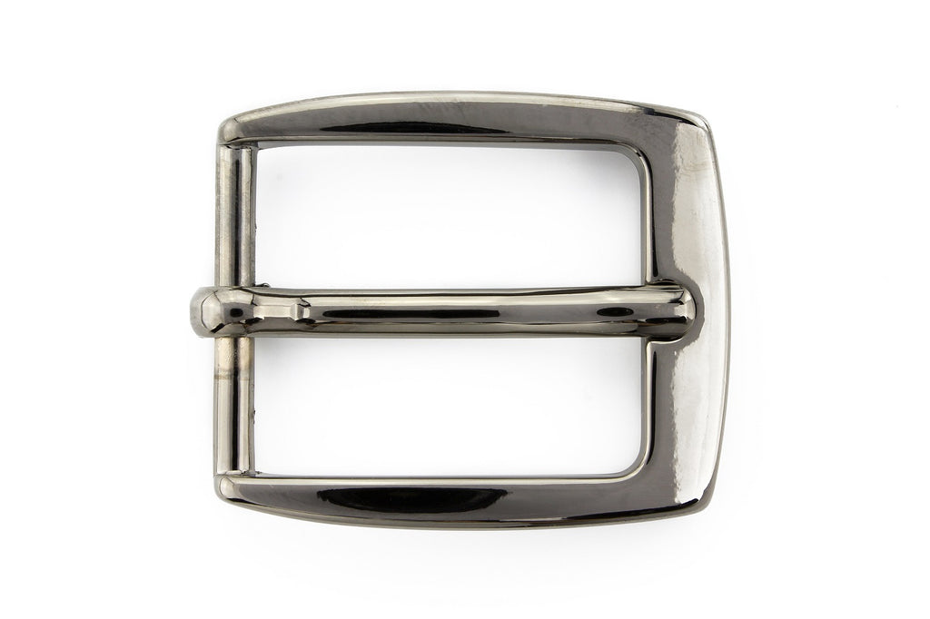 Gunmetal classic prong buckle 25mm
