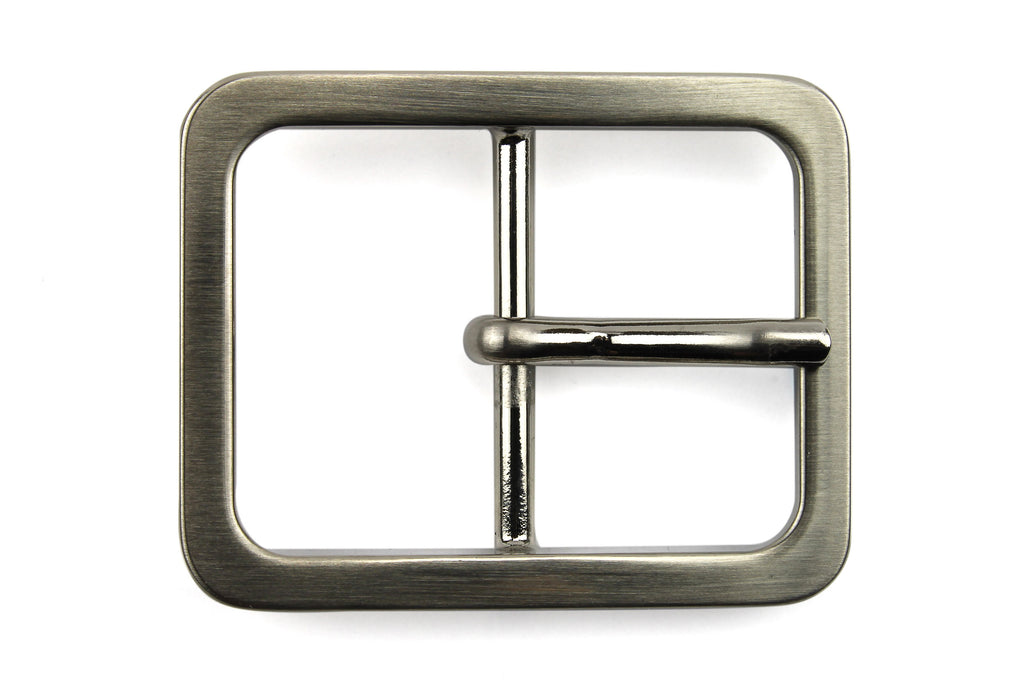 Sleek Satin Silver Window Style Buckle 30mm