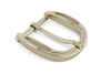 Scooped edge pale gold prong buckle 30mm