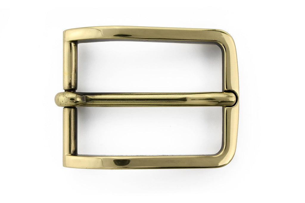 Antique gold classic prong buckle 30mm