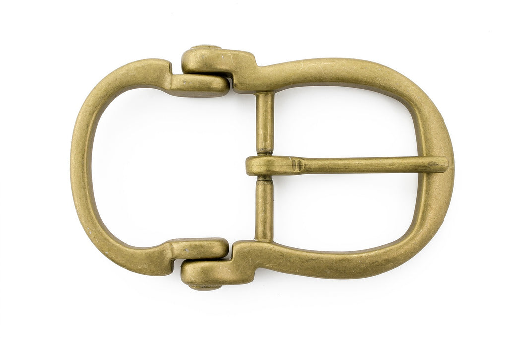 Matt gold bridle inspired buckle 30mm