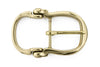 Shiny gold bridle inspired buckle 30mm