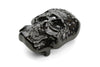 Gunmetal Mini Crystal Skull Buckle 30mm