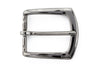 Gunmetal finish flare edge buckle 35mm