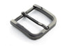 Gunmetal rounded edge rectangle buckle 35mm