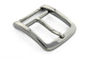 Gunmetal stirrup prong buckle 35mm
