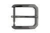 Gunmetal hexagon prong style buckle 35mm