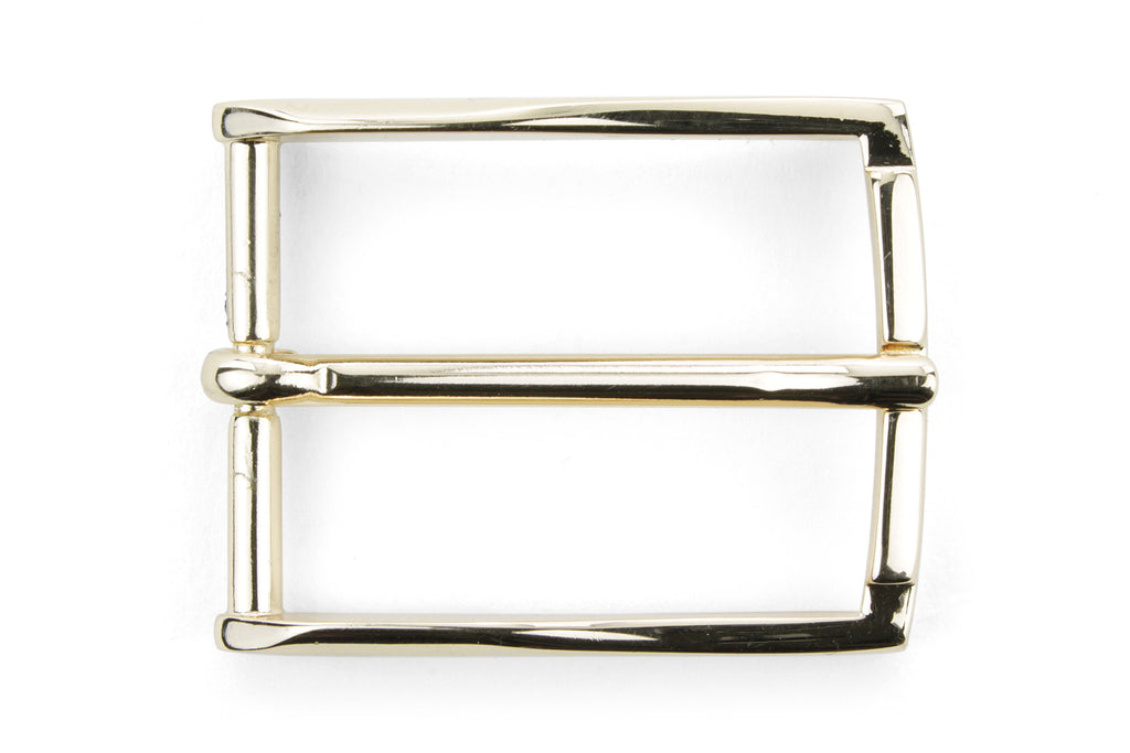 Pale Gold Fineline Prong Buckle 35mm