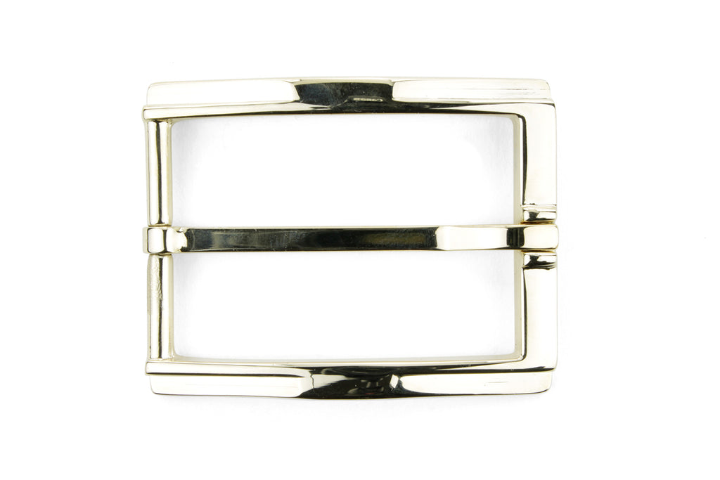 Pale Gold Kink Edge Prong Buckle 35mm