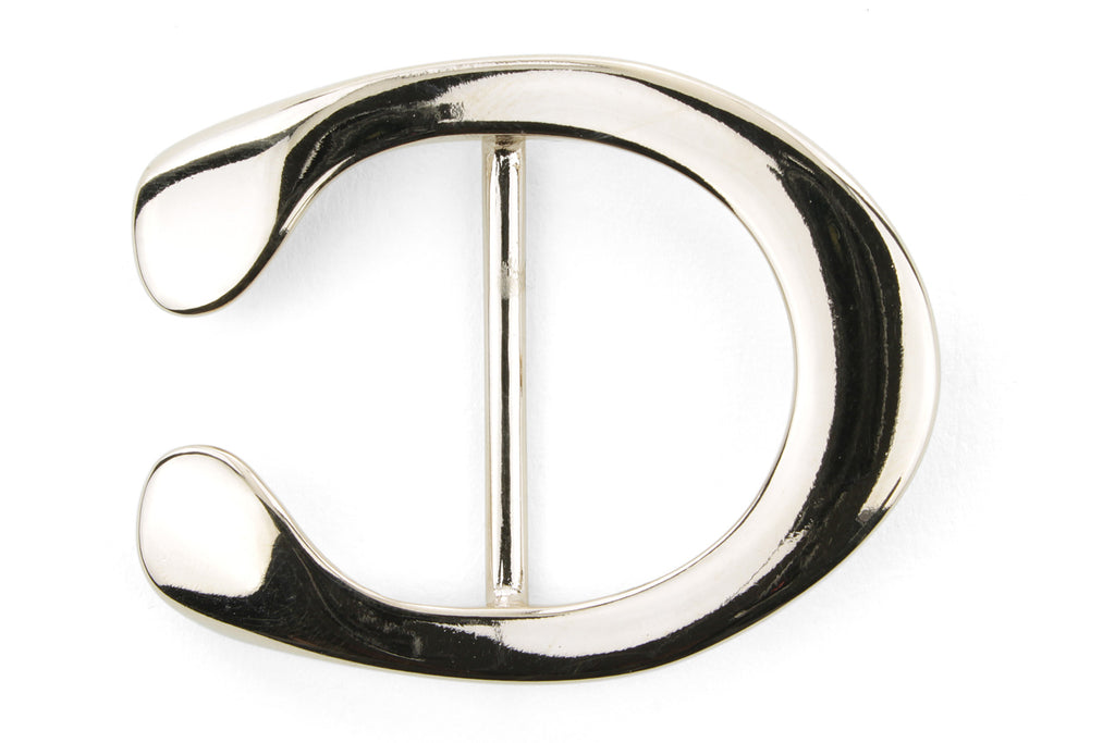 Pale Gold Reverse C Horseshoe Buckle 35mm