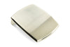 Pale Gold Satin Finish Plate Buckle 35mm