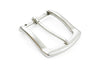 Light Antique Silver Flare Edge Buckle 35mm