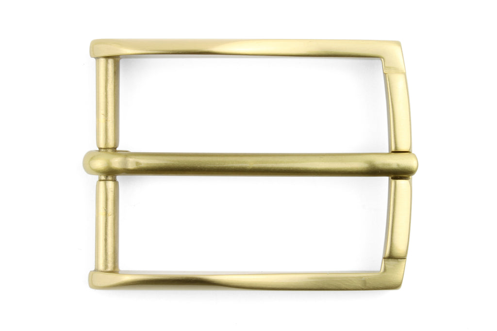 Satin Gold Fineline Prong Buckle 35mm