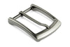 Satin Silver/Gunmetal Mix Sleek prong buckle 35mm