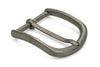 Slim Dull Finish Stainless Steel Buckle 35mm