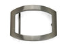 Satin Gunmetal Finish Open Plate Buckle 35mm