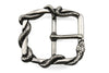 Wrapped Snake Design Frame Style Buckle 35mm