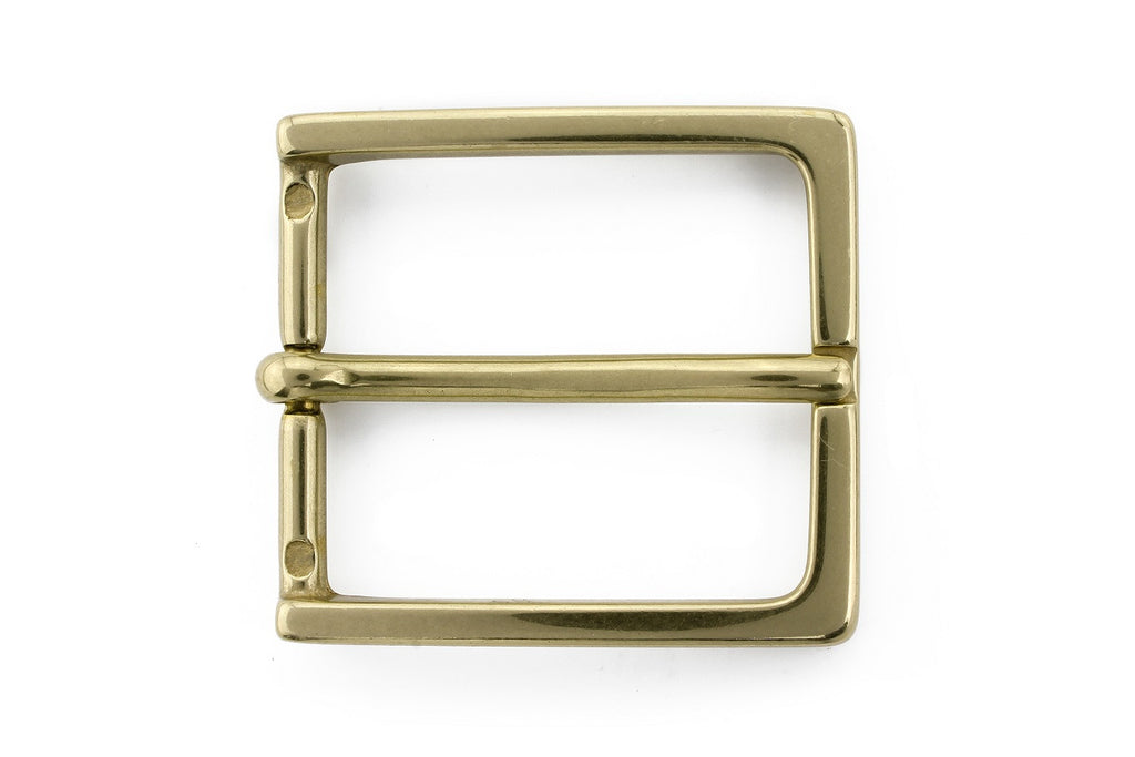 Aged gold super fine buckle 35mm
