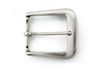 Aged silver wide flange buckle 40mm