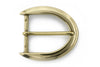Aged gold reverse C buckle 40mm