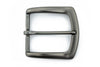 Matt black flare edge buckle 40mm