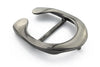 Gunmetal horseshoe stud buckle 40mm