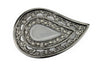 Paisley Enamel Gunmetal Buckle 40mm