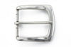 Antique silver flare edge buckle 40mm