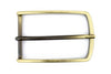 Satin Gold Slimline Prong Buckle 40mm