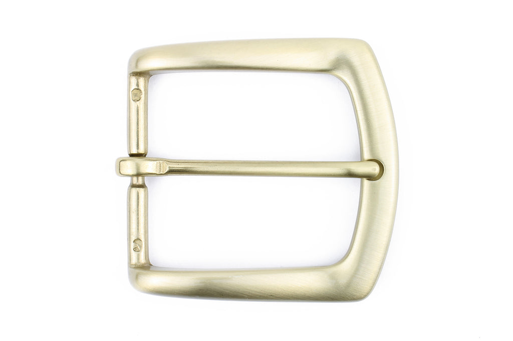 Satin Gold Flare Edge Buckle 40mm