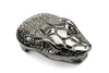 Shiny Gunmetal Snakehead Buckle 40mm