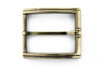 Slimline Aged Gold Step Buckle 40mm