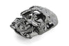 Gunmetal Half Skull Crystal Buckle 40mm