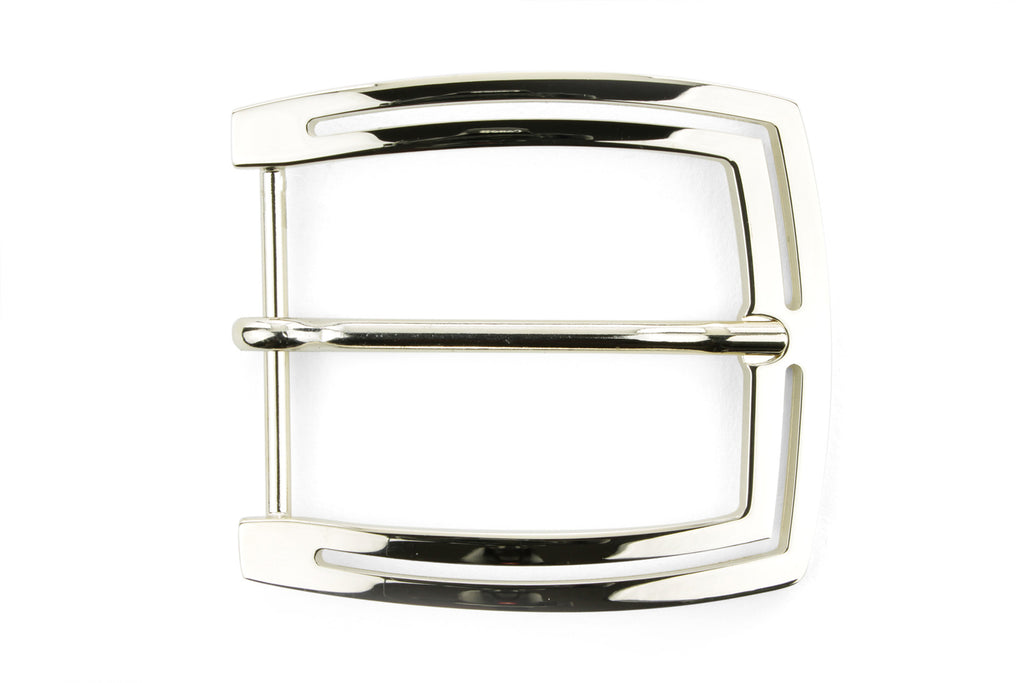 Pale Gold Double Edge Buckle 40mm