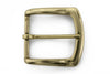 Flare Edge Antique Gold Buckle 40mm