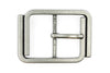 Aged Silver Interlocked 'U' Buckle 40mm