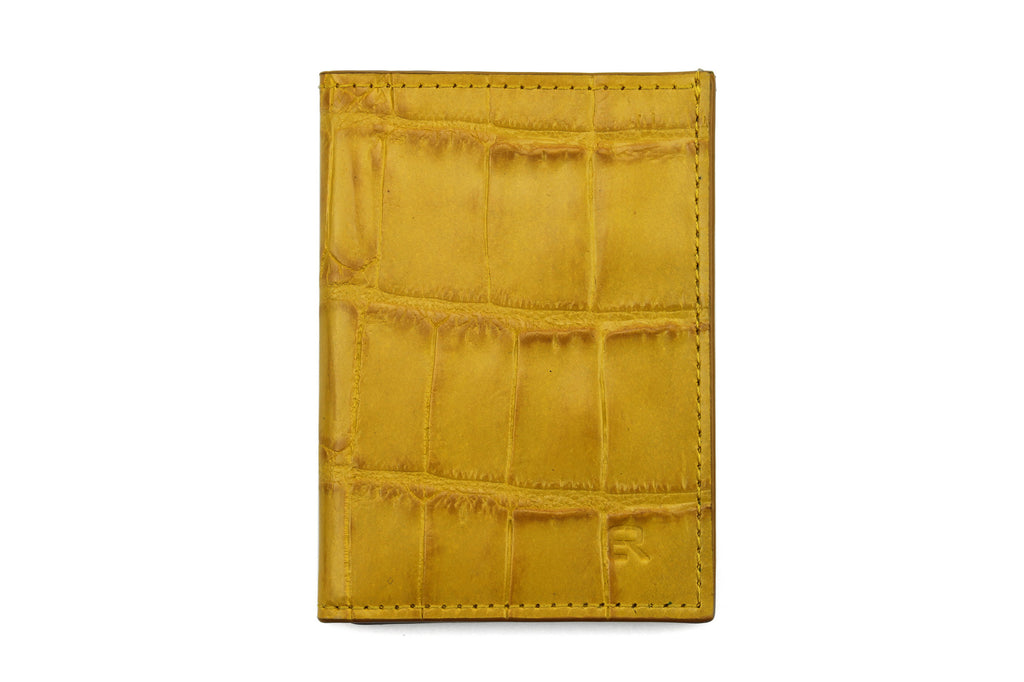 Sunflower mock croc Chelsea card holder