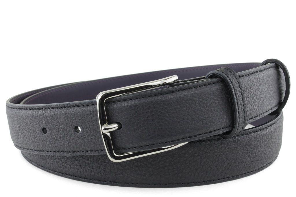 Narrow Black Novak Belt