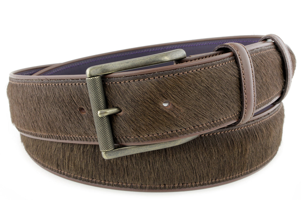 Horse Chestnut Pony Hair Roller Belt