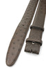 Dark Brown Genuine Ostrich Quill Classic Belt Strap