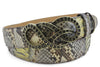 Casbah Gold Flecked Genuine Python Belt