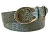 Rainforest Genuine Python Flattened C Belt