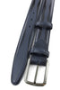 Navy Blue Jolson Design Men's Cordovan Belt