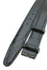 Navy blue mock crocodile belt strap